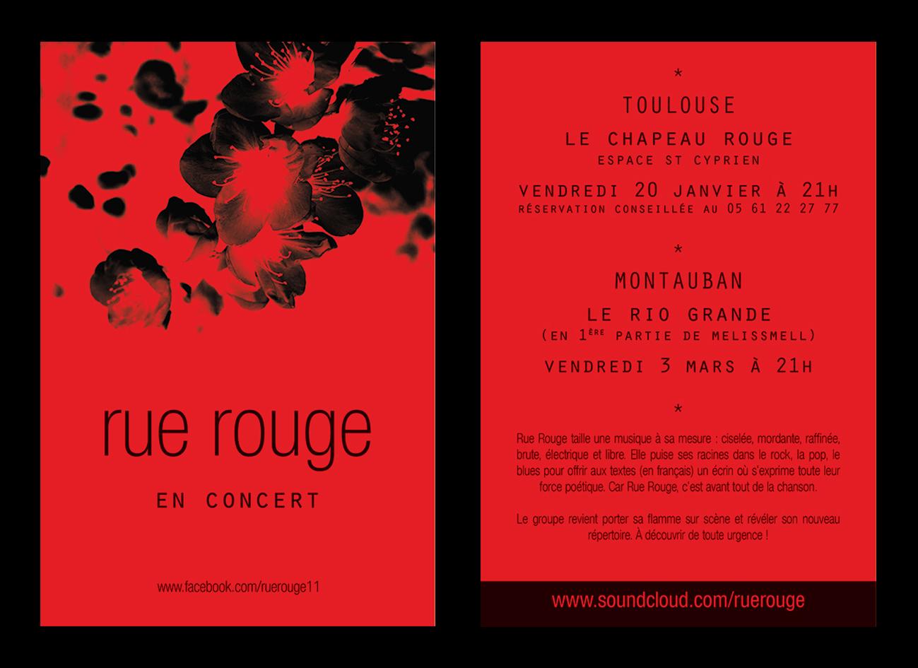 flyer | rue rouge