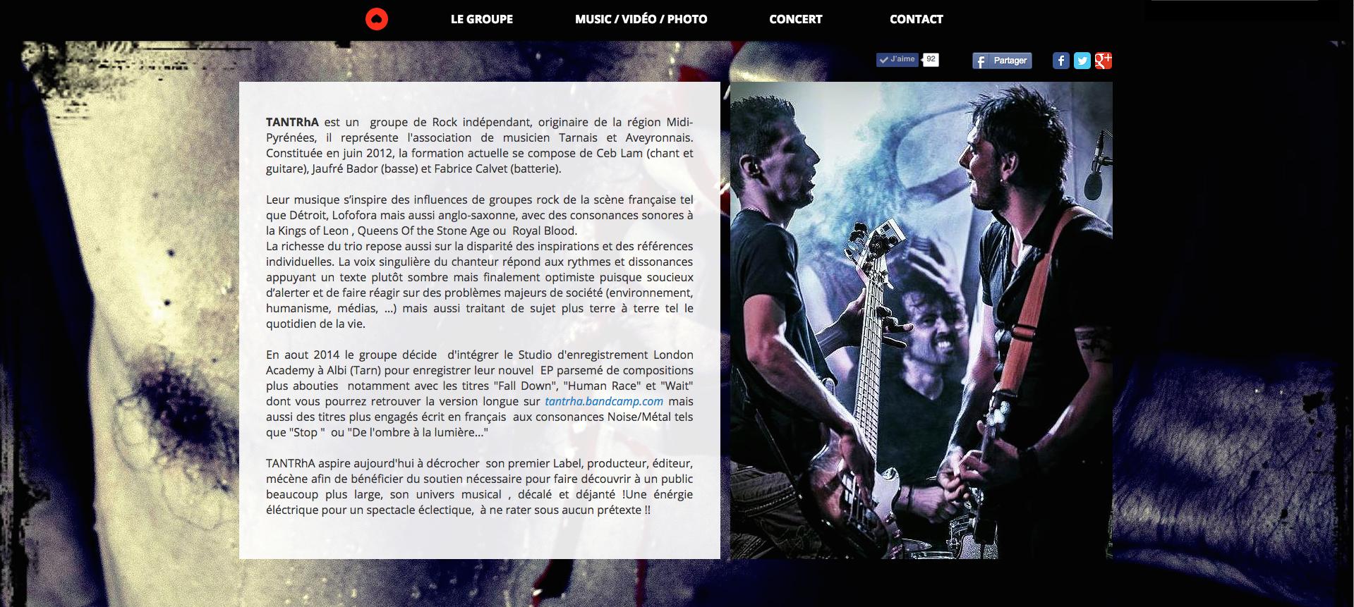 Site web | TANTRhA
