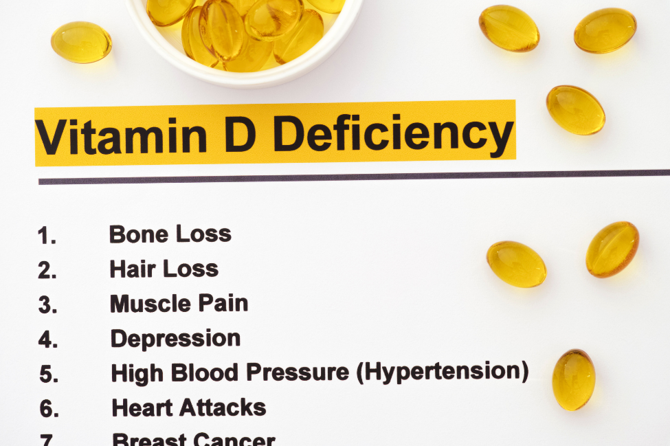 Am I deficient in vitamin D? Vitamin d deficiency symptoms and signs.