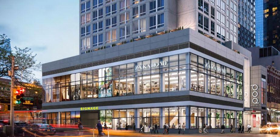 Times Square Retail Condo