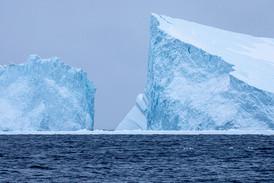 Greenland Shrinking Icebergs