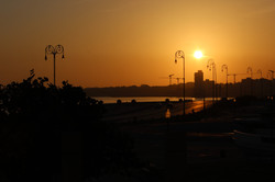 16 - Sunrise at the Malecon, Havana, Cuba