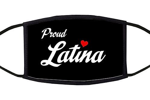 Proud Latina Adjustable Face Mask