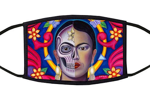 Amor De Frida Adjustable Face Mask / 3-ply/ Reusable/ Soft/ Handmade in USA