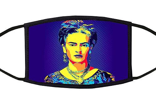 Frida's Bow Pop Art Adjustable Face Mask