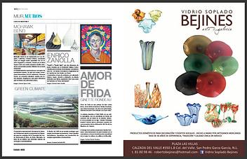"Ginette Rondeau's ""Amor de Frida"" featured in Casa y Mas"
