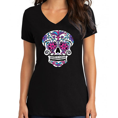 Color Me Pink Women's v-neck t-shirt