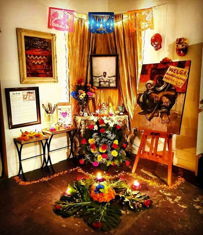 Altar for Papo De Asis by Ginette Rondeau