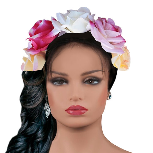 Frida  Springtime Flowers Crown