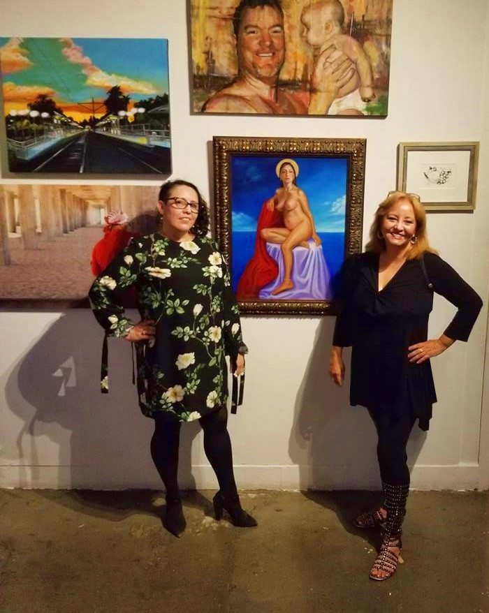 I am grateful to Dulce Stein, curator, for inviting me to be in her exhibition!