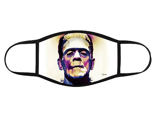 Frankenstein Pop Art Face Mask