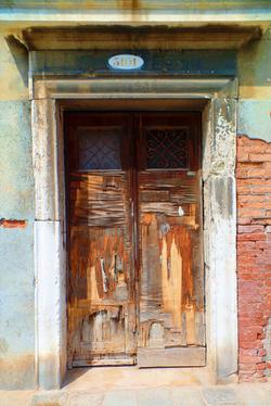 The Old Door In Venice