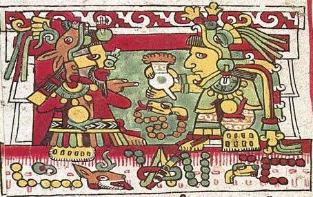 """""""Food of the Gods""""  Valentine & Quetzalcoatl"""