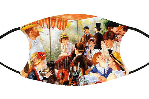 Luncheon of the Boating Party (Renoir) Adjustable Filter/ Washable/ Soft