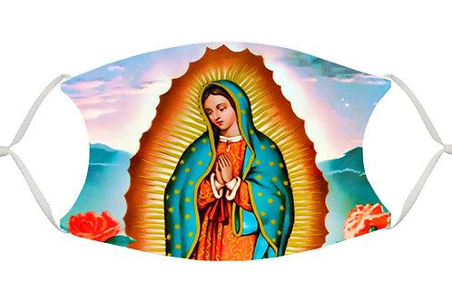 Virgin of Guadalupe S-M Adjustable Face Mask