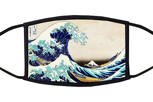 The Great Wave Adjustable Face Mask