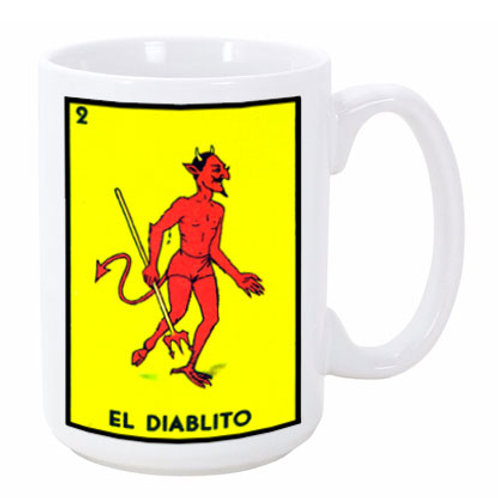 Loteria: El Diablito (the Devil)