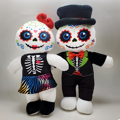 Day of the Dead Doll Couple