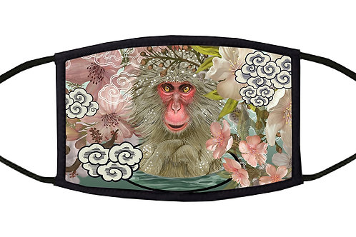 Japanese Macaques Adjustable Face Mask