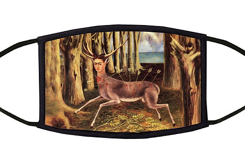 The Wounded Deer Adjustable Face Mask