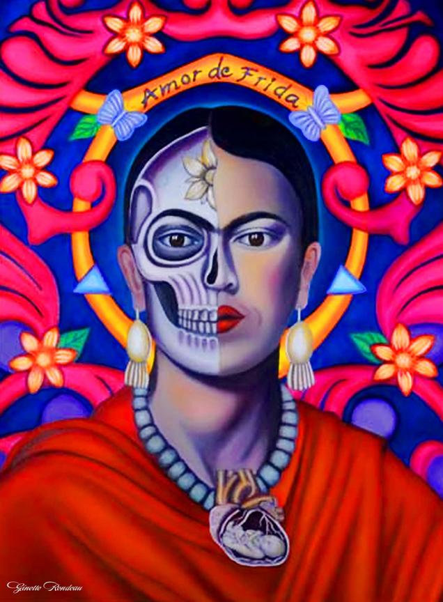 Amor de Frida by Ginette Rondeau