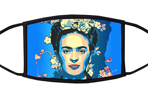 Frida Pop Art Adjustable Face Mask