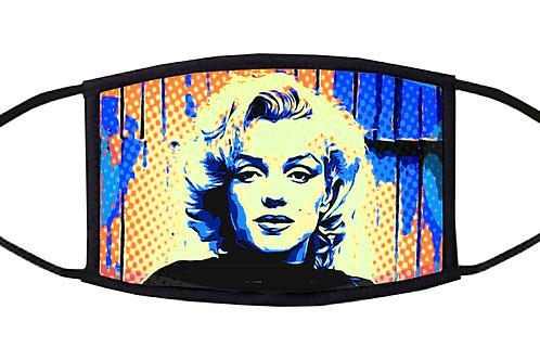 Marilyn Pop Art Adjustable Face Mask