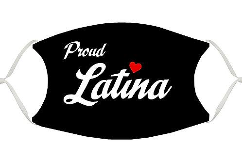 Proud Latina S-M Adjustable Face Mask