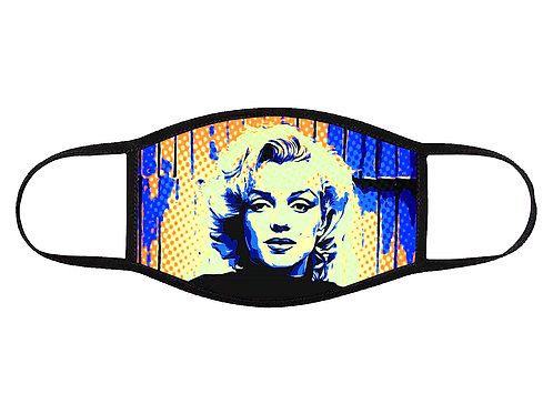 Marilyn Pop Art Face Mask