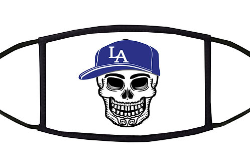 L.A. Playball Adjustable Face Mask / 3-ply/ Reusable/ Soft/ Handmade in USA