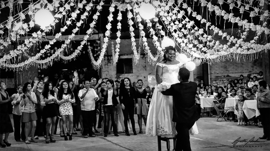 The Bouquet Toss - Oaxaca, Mexico