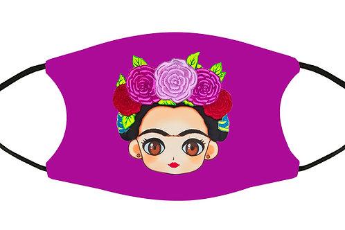 Frida Chula Magenta Adjustable S-M w/4 Filters/ Washable/ Soft