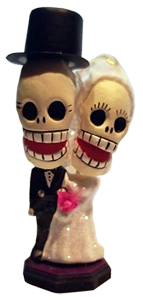 Day of the Dead Wedding Figuerines