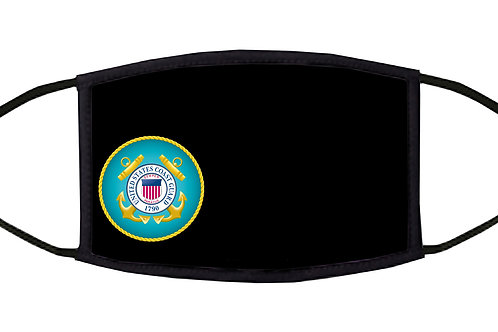 United States Coast Guard Adjustable Face Mask