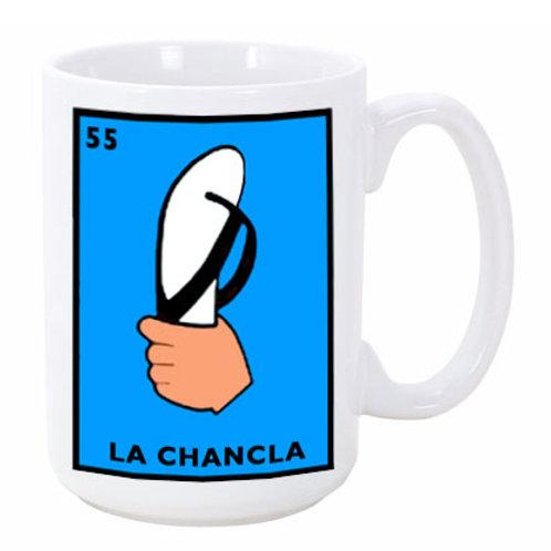 Loteria: La Chancla (the Flip-Flop) Ceramic Mug