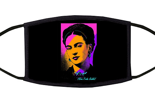 Viva Frida! Adjustable Face Mask / 3-ply/ Washable/ Reusable/ Handmade in USA