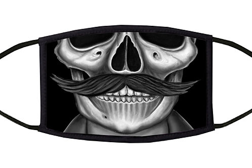 The Mustache Adjustable Face Mask