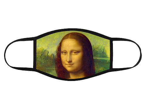 The Mona Lisa Face Mask
