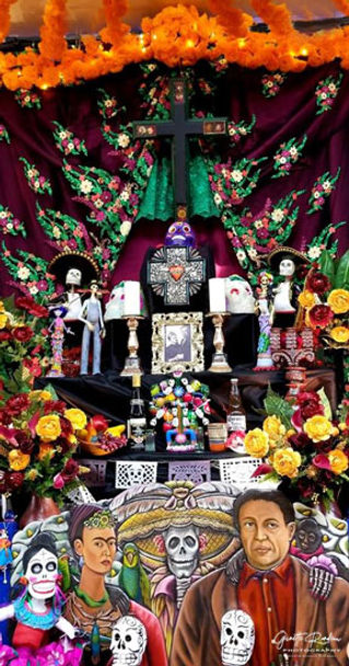 """Altar Para Los Pintores"" by Olveritas on Olvera Street"