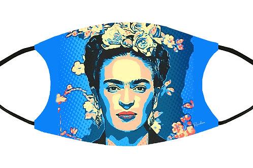 Frida Pop Art Filtered S-M Adjustable Filter Face Mask/ 4 Filters/ Reusable