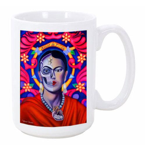 Amor De Frida Ceramic Mug
