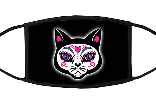 The Cat Adjustable Face Mask