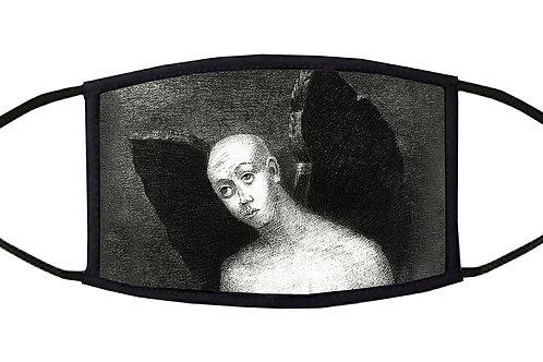 The Fallen Angel Adjustable Face Mask