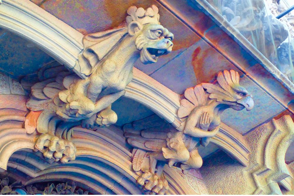 Gargoyles of Barcelona
