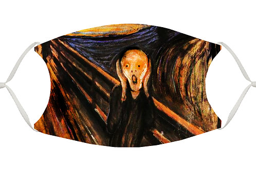 The Scream S-M Adjustable Face Mask