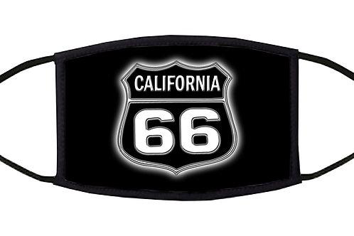 California Route 66 Adjustable Face Mask