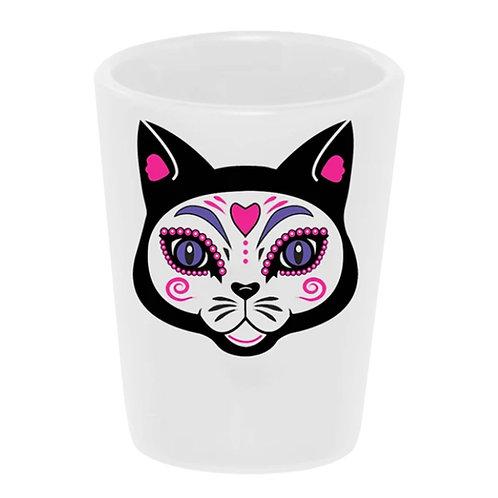 The Cat (El Gato) Shot Glass