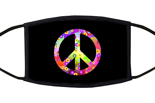 Peace Adjustable Face Mask