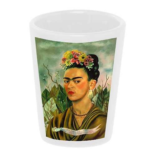 """Frida - Picasso Earrings"" Shot Glass"