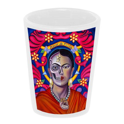 """""""Amor de Frida"""" Shot Glass"""